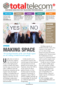 Making Space - July Total Telecom+