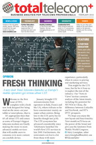 Fresh Thinking - February Total Telecom+