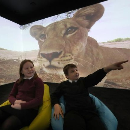 image for UK's first 5G immersive classroom brings richer learning exp…
