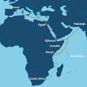 PEACE subsea cable expanding to South Africa
