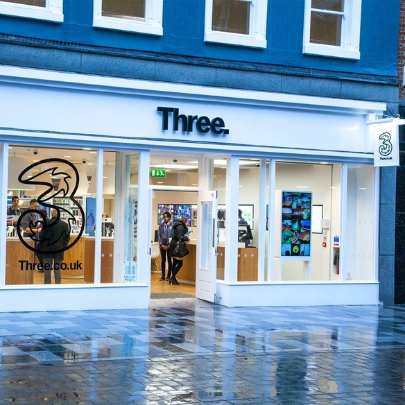 Three passes the 10m customer mark and posts strong financials for 2017