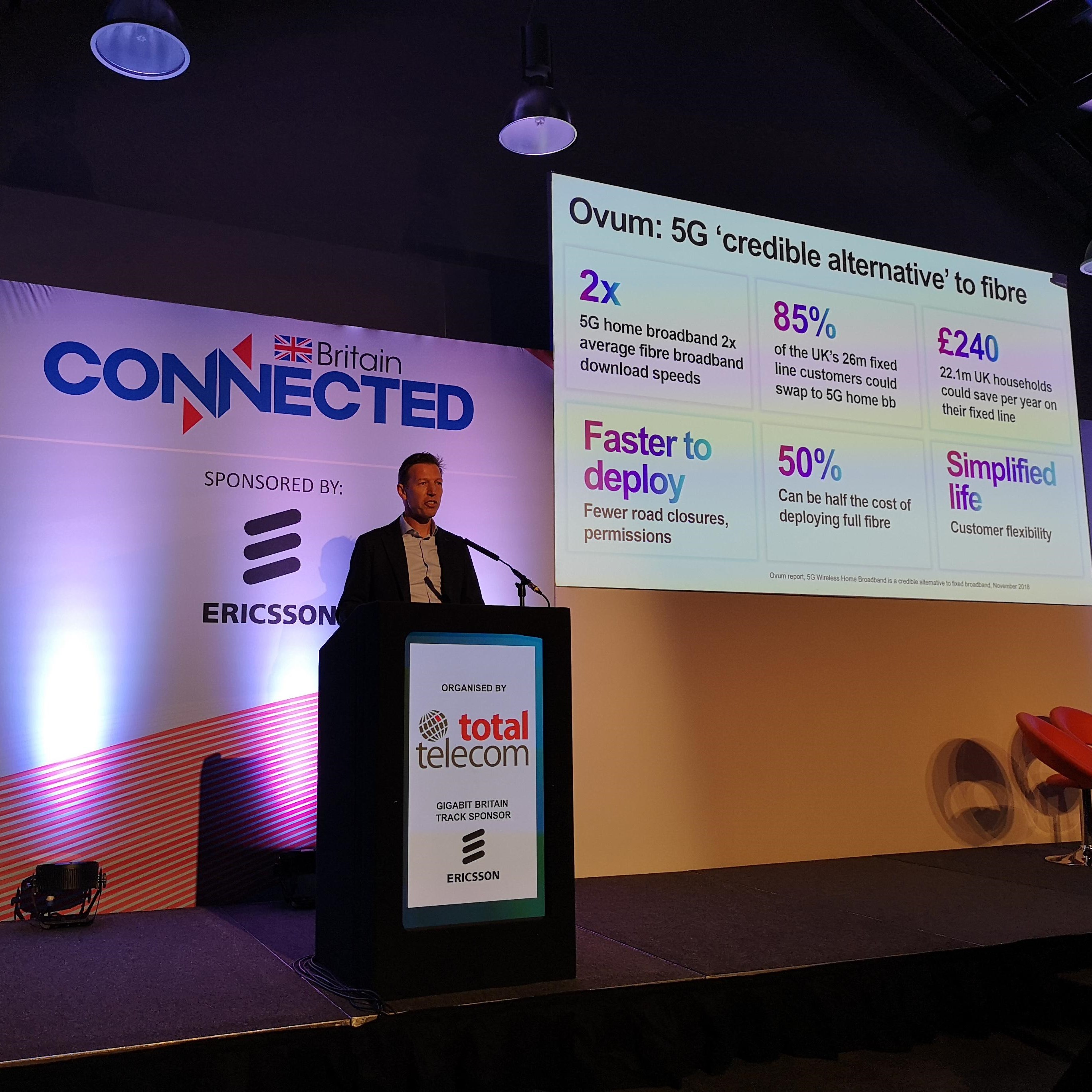 Three CEO: EE led on 4G, but 5G is our time to shine
