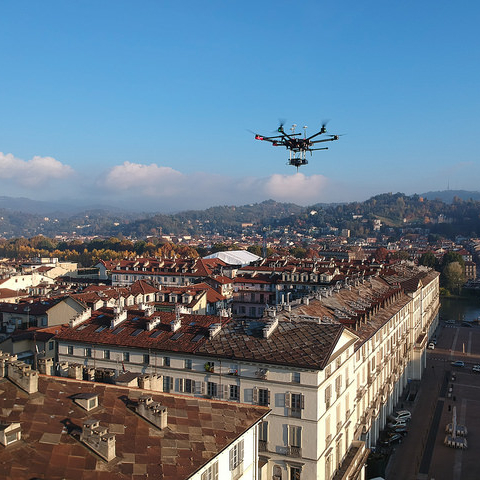 image for TIM commences 5G drone trials in Turin