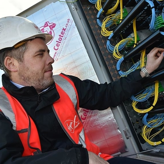 image for Virgin Media trials new fibre tech with 400Gbps potential